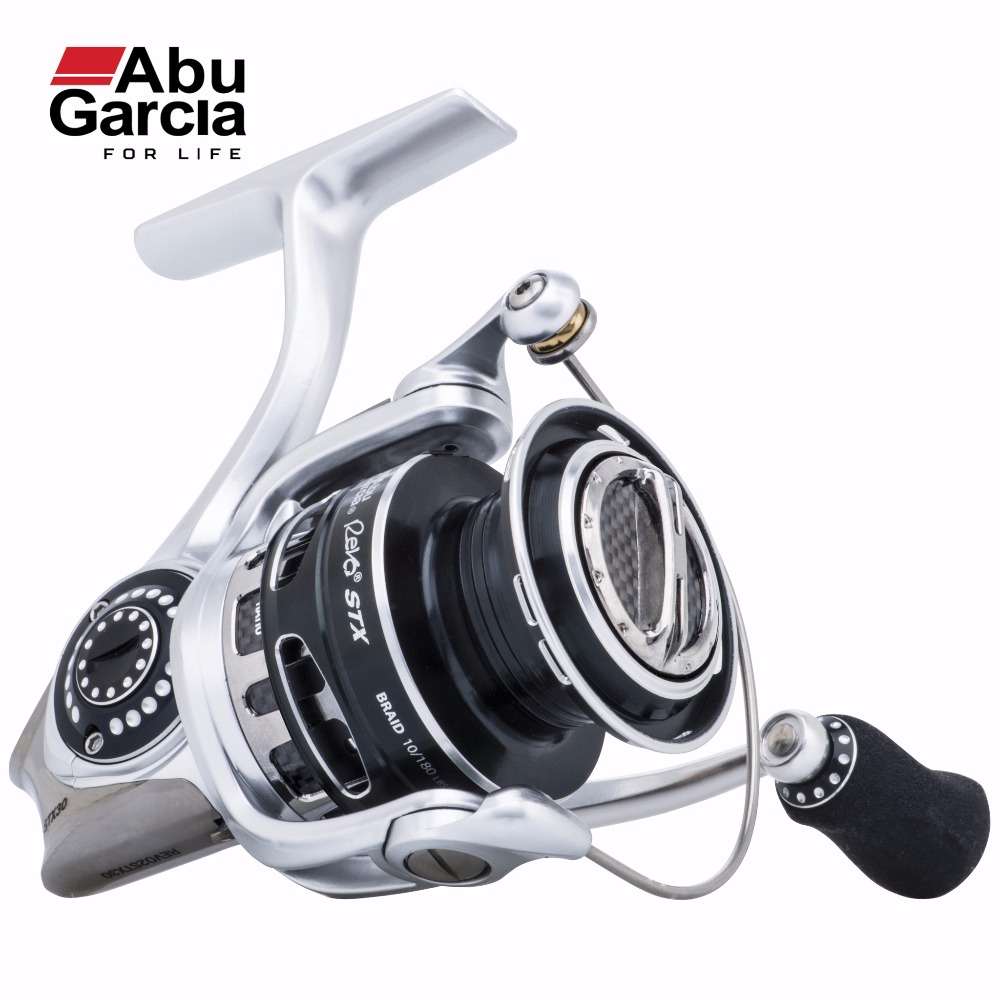 2017 New Abu Garcia 100% Original REVO STX Spinning Fishing Reel 1000-4000 Front-Drag Fishing Reel 9+1BB 6.2:1 abu garcia revo deez 9 1bb 6 2 1 1000 spinning reel jb top50 professional angler special design freshwater fishing reel tackle