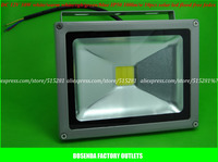 High Brightness IP60 DC12V Input Warm White White Red Green Blue 30W Led Flood Light Outdoor