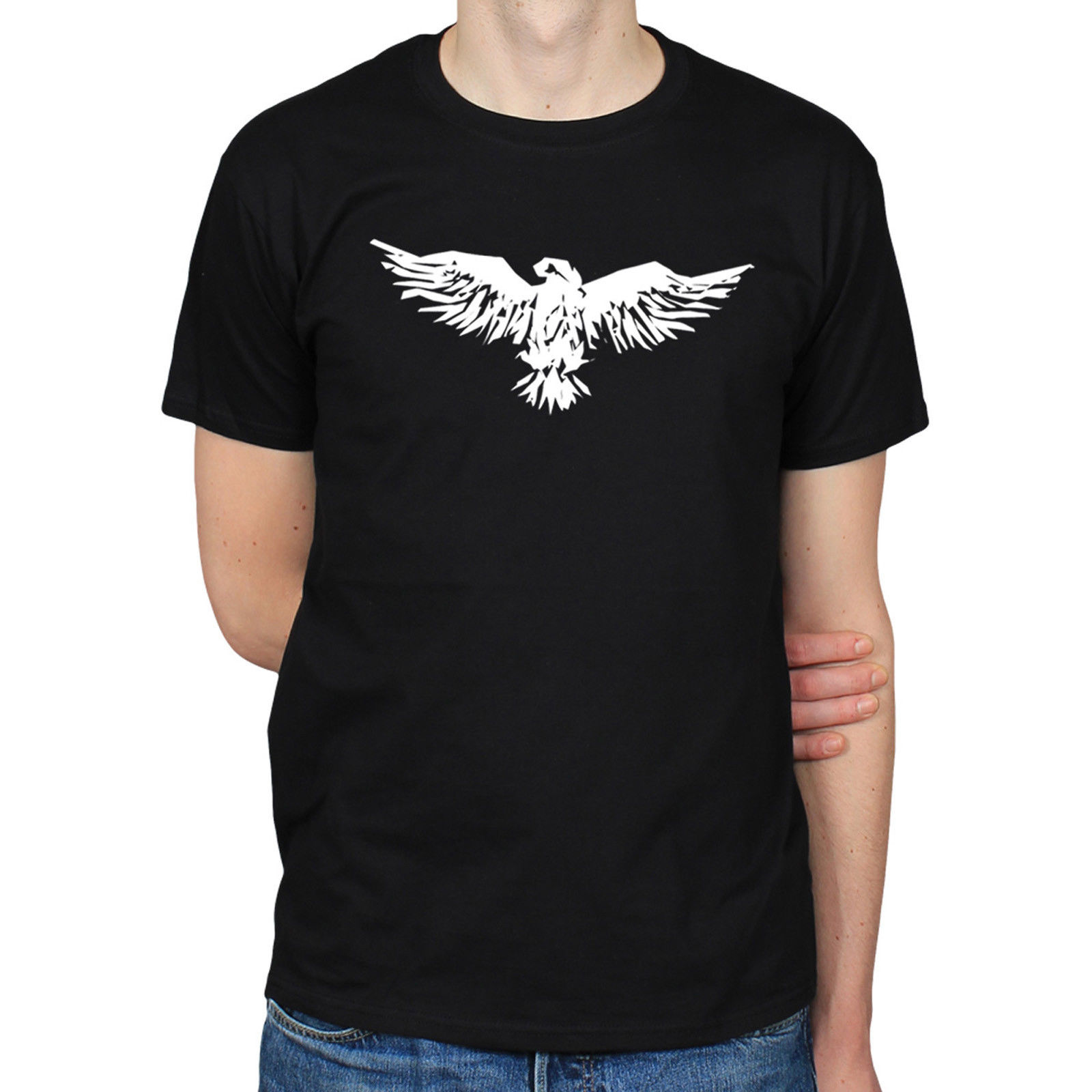 Design t shirt price - Spread Eagle Paper Cut Bird Of Prey Shape Art Design T Shirt Funny Tops Tee