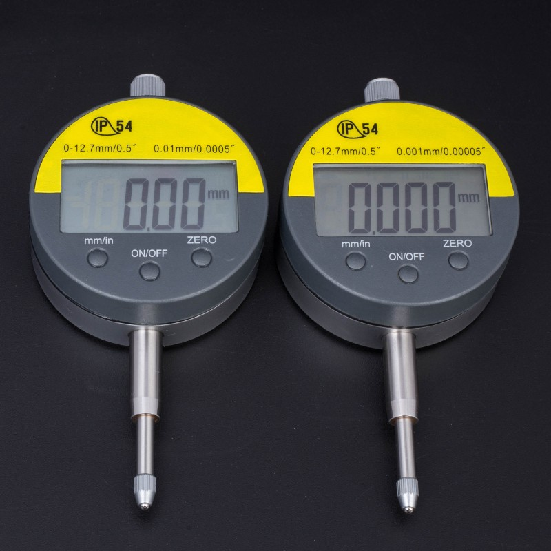 Gauge 0 12 Inch Electronic 001mm Proof 5inch Meter Oil Indicator Dial Digital 0 0 7mm Precision Metric Micrometer Micrometer IP54