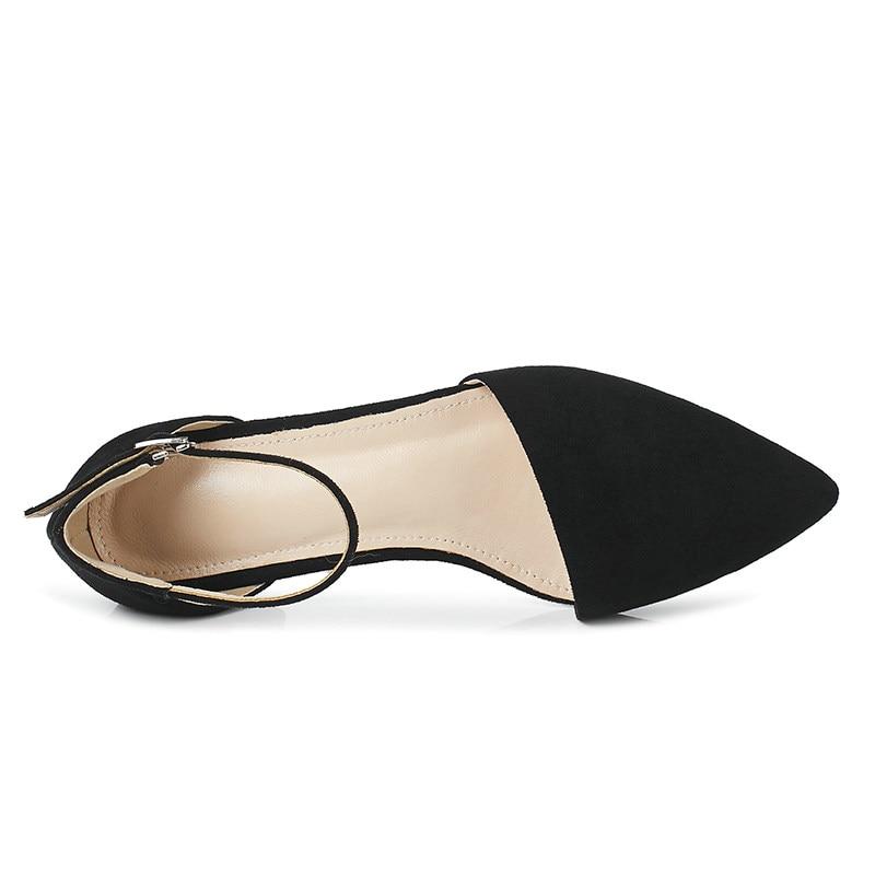 Toutes Femmes Sélections Qutaa Pompes Pointu Bout rose Bas Carré jaune Casual 2019 Talon Plate Pièce 34 Noir Deux Les gris Chaussures Taille forme 43 PPqEwrxz5