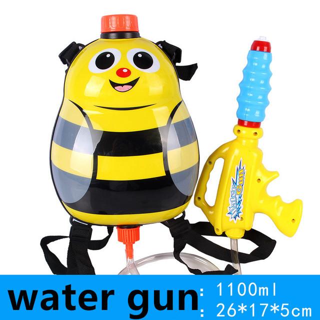 Pistola de agua pistola nerf airsoft aire modelo Animal de juguete Para Niños mochila playa gama está lejos de alta presión de Agua grande fugas