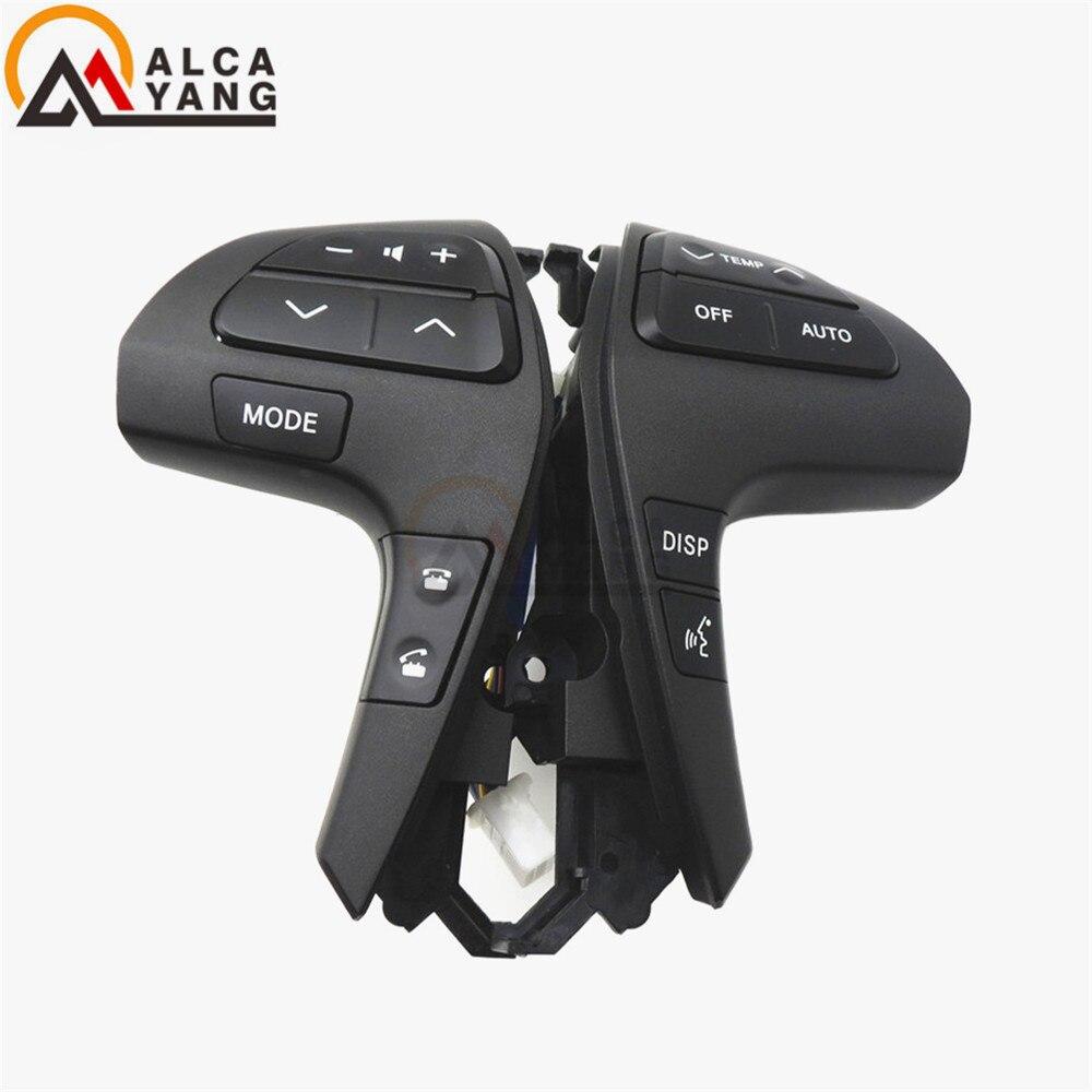 Auto Lenkrad Audio-bedientasten Schalter Für TOYOTA HILUX VIGO COROLLA CAMRY HIGHLANDER INNOVA