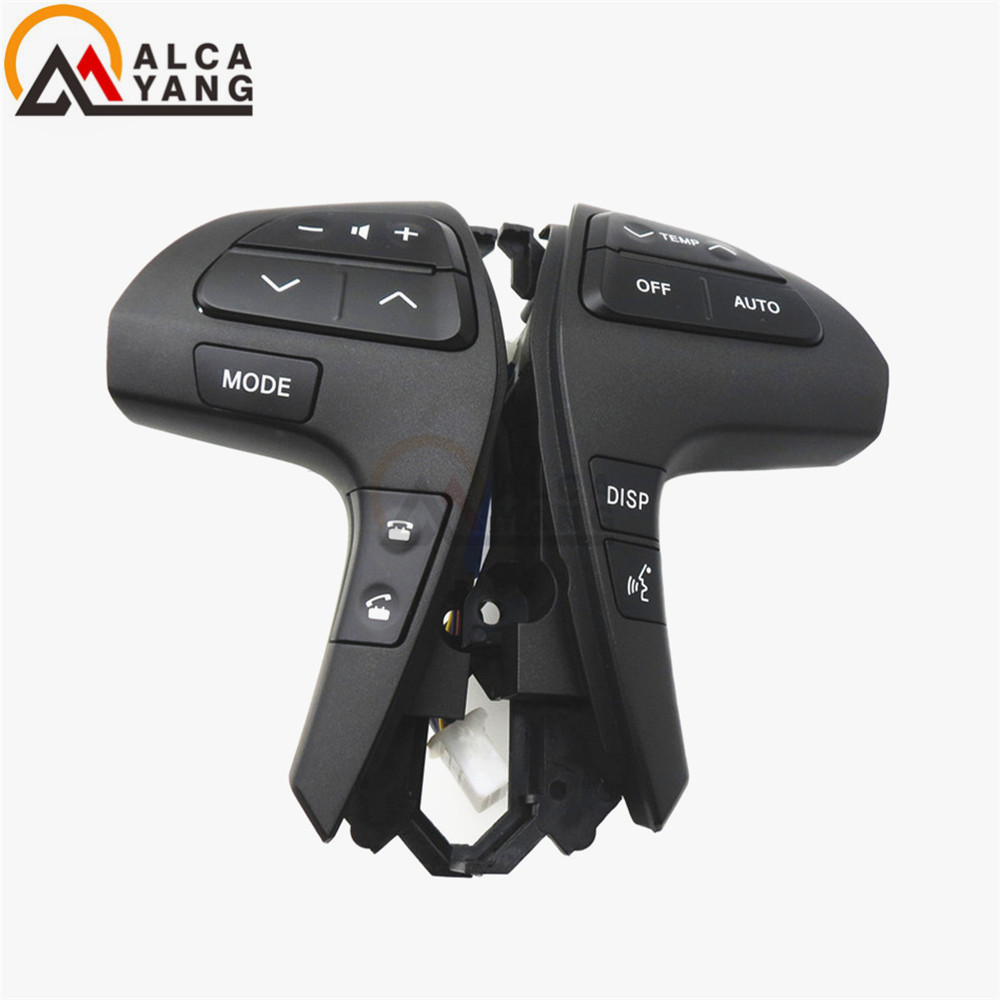 цена на Auto Steering Wheel Audio Control Button Switch For TOYOTA HILUX VIGO COROLLA CAMRY HIGHLANDER INNOVA