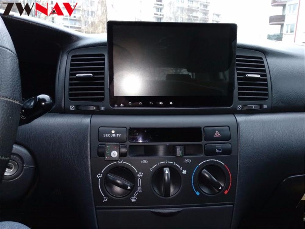 2 Din Android 8,0 Автомобильный gps навигационный головное устройство для Toyota Corolla EX 2006 2001 Мультимедиа Радио магнитофон без DVD плеер 4 + 32