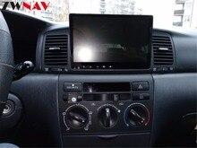 2 Din Android 8,0 автомобиль gps навигации головное устройство для Toyota Corolla EX 2001-2006 Мультимедиа Радио клейкие ленты регистраторы без DVD плеер 4 + 32