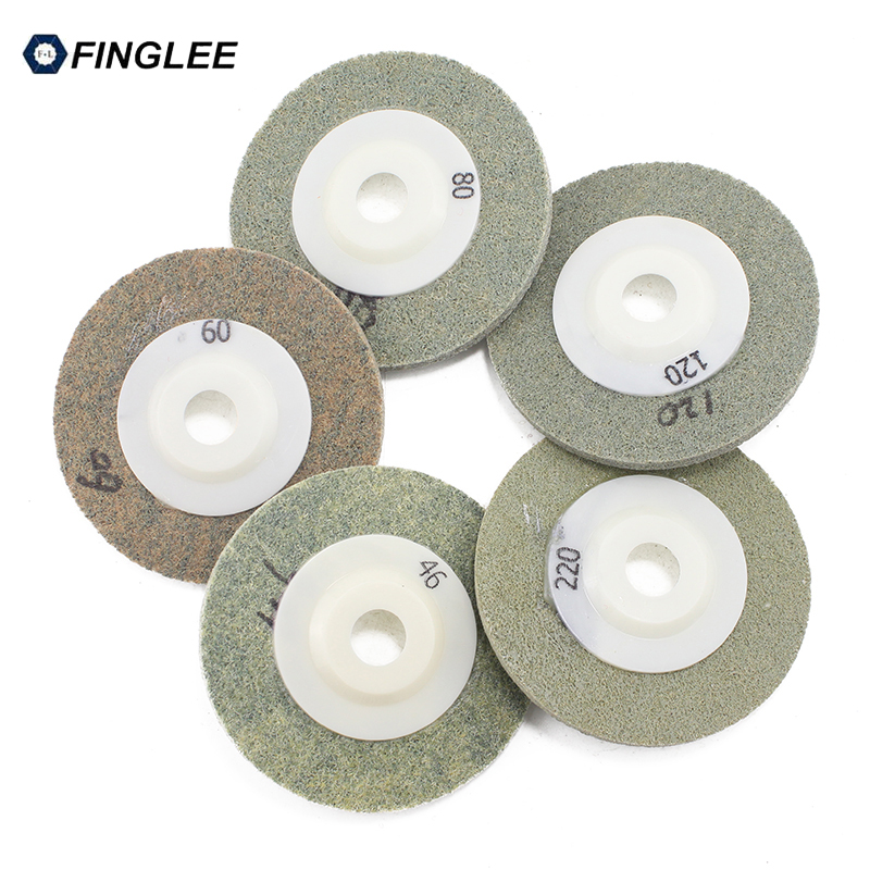 Diamond Polishing Pad 4 Inch 100 Mm Wet Sander Disc For Granite Stone Resin Circle Polishing Wheel 9 Pcs/lot