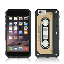 Anti Scratch Anti Skid TPU+PC Phone Case For iPhone7 Plus 8 Plus 5.5