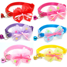 New Cheap Cats Collar For Cats Collier Chiot Dog Bow Tie Kitten Collar Hot Sale Adjustable