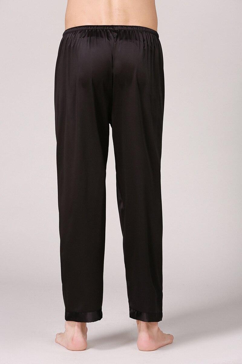 sólida dos homens calças longas simulação calças