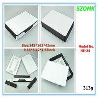 1 stück kunststoff netzwerk gehäuse 245*163*42 MM Hohe qualität wifi gehäuse tp linker elektronik anschlussdose für projekt