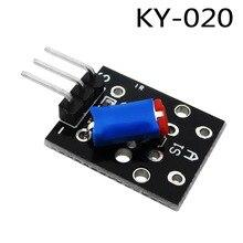 10 шт. Умная Электроника 3pin KY-020 Стандартный переключатель наклона Сенсор модуль