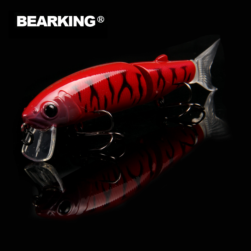 BEARKING brand artificial 11.3cm 13.7g Fishing Wobblers Fishing Lure Bait Swimbait Crankbait minnow