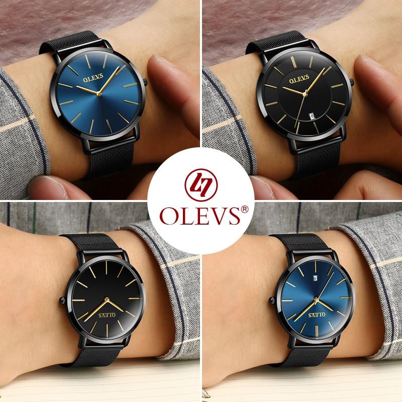 OLEVS Κορυφαία ασημένια ρολόγια μάρκας - Ανδρικά ρολόγια - Φωτογραφία 5