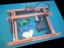 30 cm * 23 cm, 5500 MW big DIY laser engraving machine, 5.5 W DIY marking machine, laser machine Diy recording, advanced toys