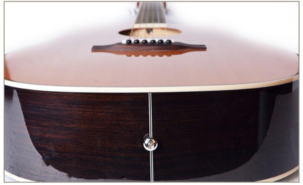 Guitarra cedro acústico elétrica de aço-corda 41