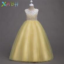 4420dd69b8 EAZII fiesta de chicas vestido de noche rendimiento niños vestidos para  niñas traje de Carnaval vestidos de princesa de la boda .