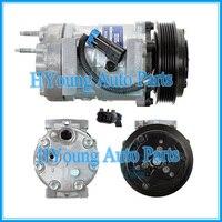 Ar auto ac compressor para Sanden Caminhões Navistar 7H15 3547916C1 3541235-C91