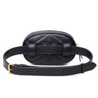 Fashion Fanny Pack belt bag pu leather waist bag women luxury brand leather 2019 waist pack hight quality sac main drop shipping