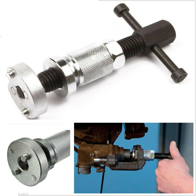 3 unids/set coche Auto Metal DIY rueda cilindro disco freno Pad Calliper pistón rebobinado Kit de mano