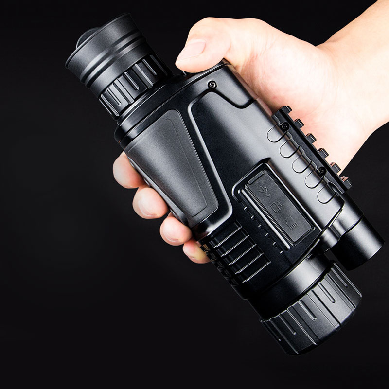 HD Hunting Infrared Digital Night Vision Monocular Telescope 5X40 Long Range Tactical Equipment Handheld Scope High