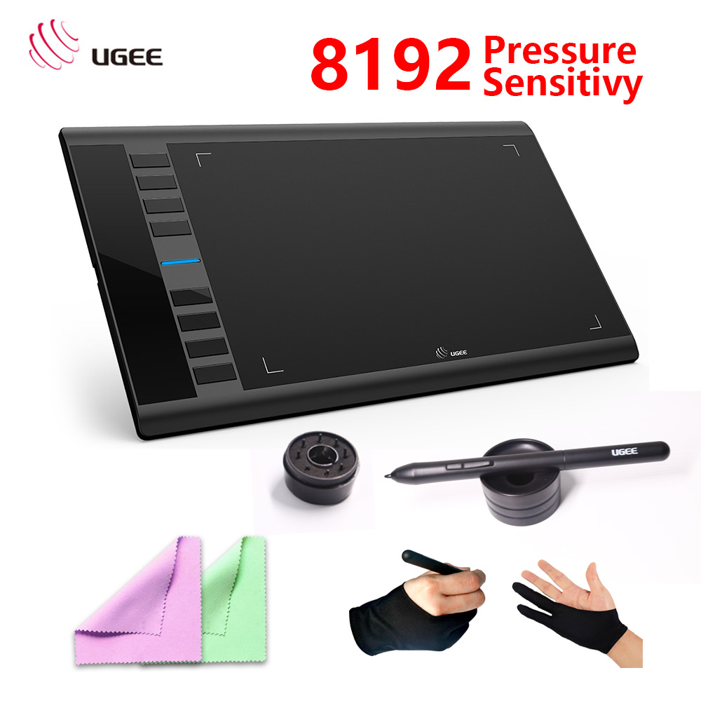 new version Ugee M708 Digital Graphics Tablet for Drawing