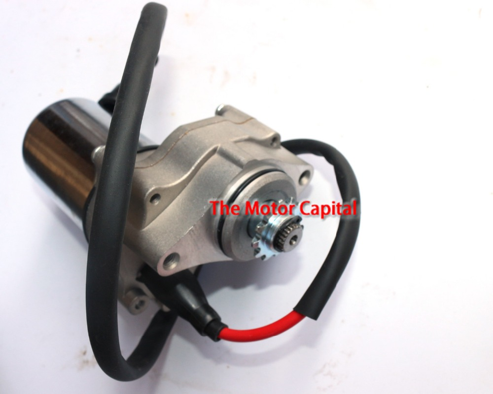 Electric starter starting motor fit dirt pit bike 2 for How to make an electric bike with a starter motor