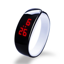 2016 new hot 10 color Dolphin Bracelet Watch Band Digital Watch Red LED Watches women  WristWatch Sport Clock Hours girls gifts