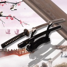 Top Quality Full Handmade Japanese Sword  Katana Sharp Folded Steel Handmade Katana Home Decorative Knife