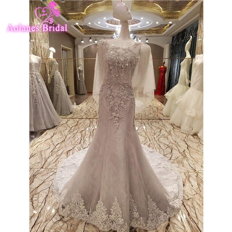 Simple Elegant Tulle A Line Scoop Neck Cap Sleeves Lace: New Fashion A Line Scoop Neck Tulle Long Evening Dresses