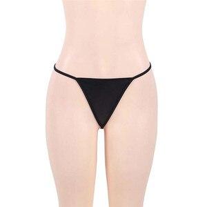 Image 5 - 2018 3XL/5XL Plus rozmiar bielizna Sex kostiumy kobiety czarna skóra bielizna erotyczna seksowna bielizna porno Teddy Babydoll erotyczna sukienka