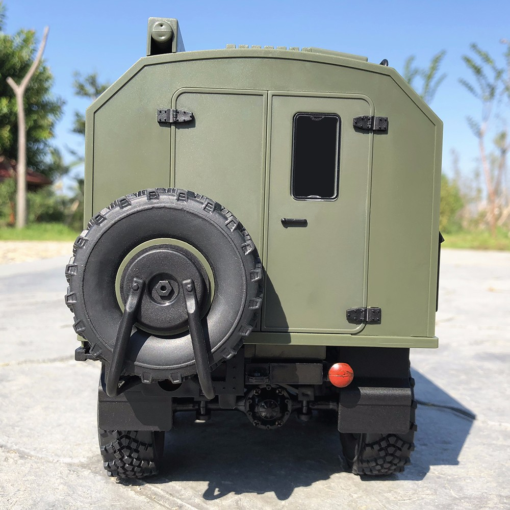 WPL B36 Ural 1/16 2.4G 6WD RC camion voiture militaire roche chenille commande véhicule de Communication RTR jouet Auto armée camions garçon jouets - 5