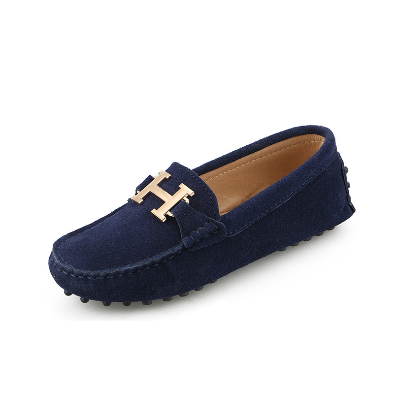 Women's Flats Loafers Genuine-Leather Moccasins Slip On Handmade Casual Fashion New Driving