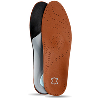 Arch Supports for Flat Feet Inserts Orthotic Insole Shoes Pad Soles Breathable sweat absorption sports leisure leather insole|Insoles| |  -