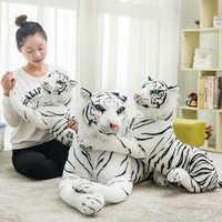 1 PC mignon blanc 30-90 CM tigres jouets en peluche Simulation tigres poupées en peluche bébé oreiller en peluche cadeau créatif pour enfants enfants