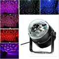 LA UE o EE. UU. Mini RGB LED Crystal Magic Ball Etapa efecto de Iluminación de La Lámpara Bombilla Party Dj Club disco Light Show Lumiere