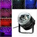 UE ou EUA Mini LED RGB Cristal Magic Ball Stage efeito de Iluminação Da Lâmpada Lâmpada Festa DJ Disco Club Light Show Lumiere