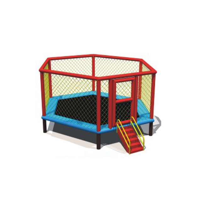 kinder spielplatz mini trampolin bett f r schule kindergarten vergn gungspark springen. Black Bedroom Furniture Sets. Home Design Ideas