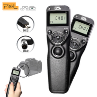 Wired Shutter Release Timer Remote Control Cable Cord Pixel T3 (DC0/DC2)For Nikon D750 D7100 D7000 D5100 D5200 D5000 D3200 D3100