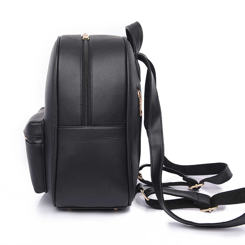 2e7b7980886 Toposhine Fashion Women Backpack For Girls 2018 Backpacks Black Backpacks  Female Fashion Girls Bags Ladies Black Backpack 1538