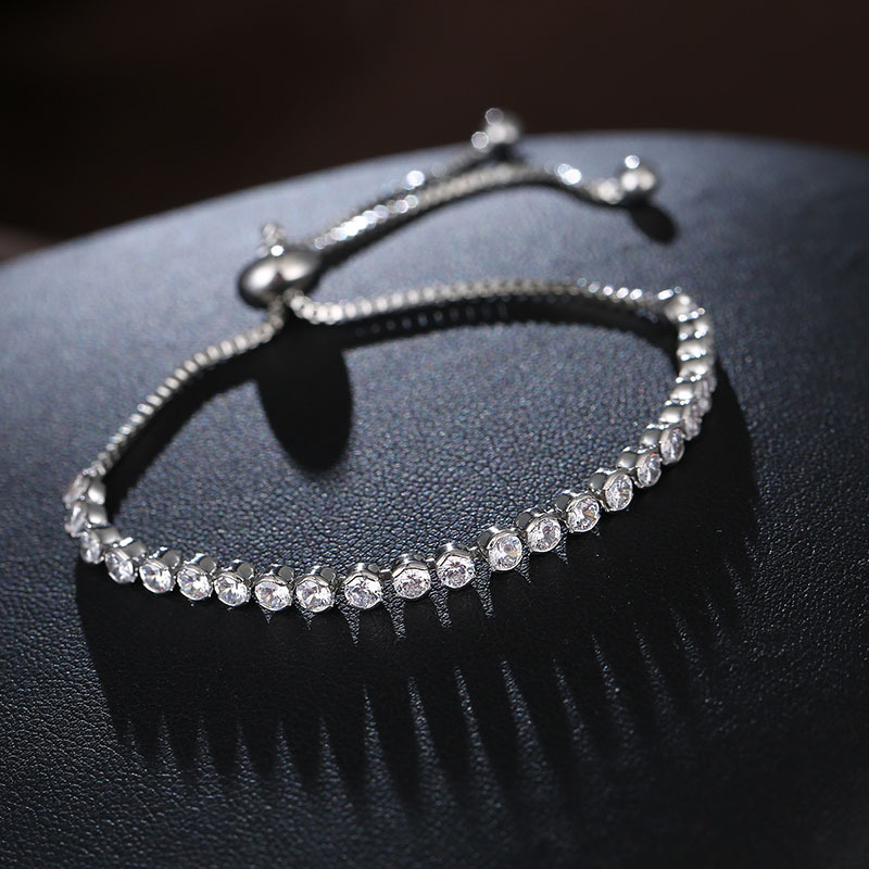 Wholesale 2019 New Charm Beads Crystal From Swarovskis Bracelet For Women Authentic Jewelry Fine  Girl Gift