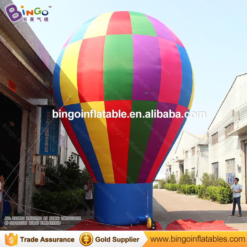 Square display type Blow up inflatable big Air ground balloon for advertising toys