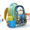 2016 Fashion Despicable Me 2 Kids Cartoon Bags Children Backpack Boy Minions Schoolbag Mochila Infantil School Bags Waterproof