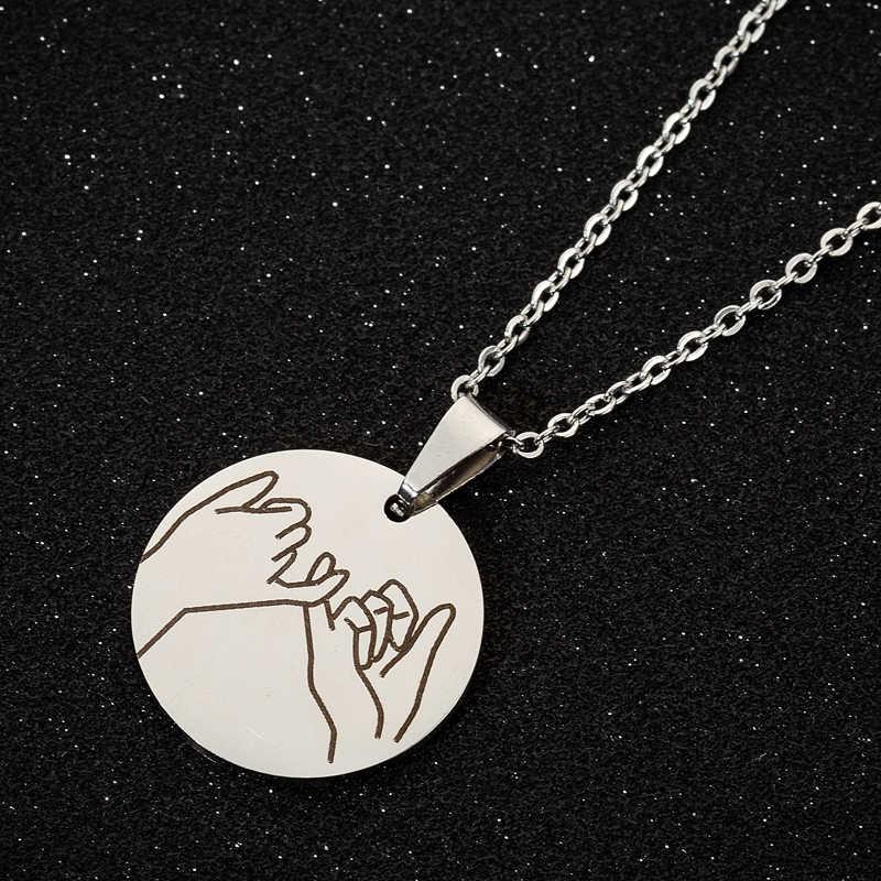 Yiustar Großzügige Charming Süße Haken Halsketten Niedliche Weibliche Schmuck Collier Coquillage Für Frauen Mädchen Liebhaber der Familie Party Geschenke