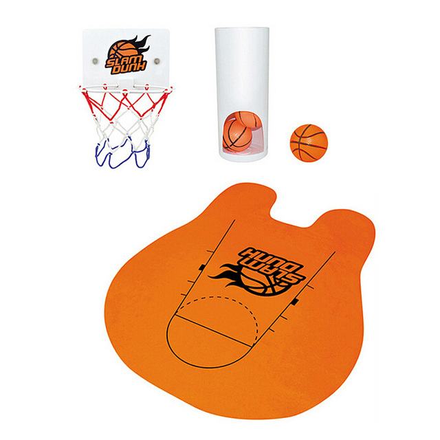 Best Offer Buy Novelty Toilet Bathroom Basketball Slam Dunk Game Toy Set  HG99