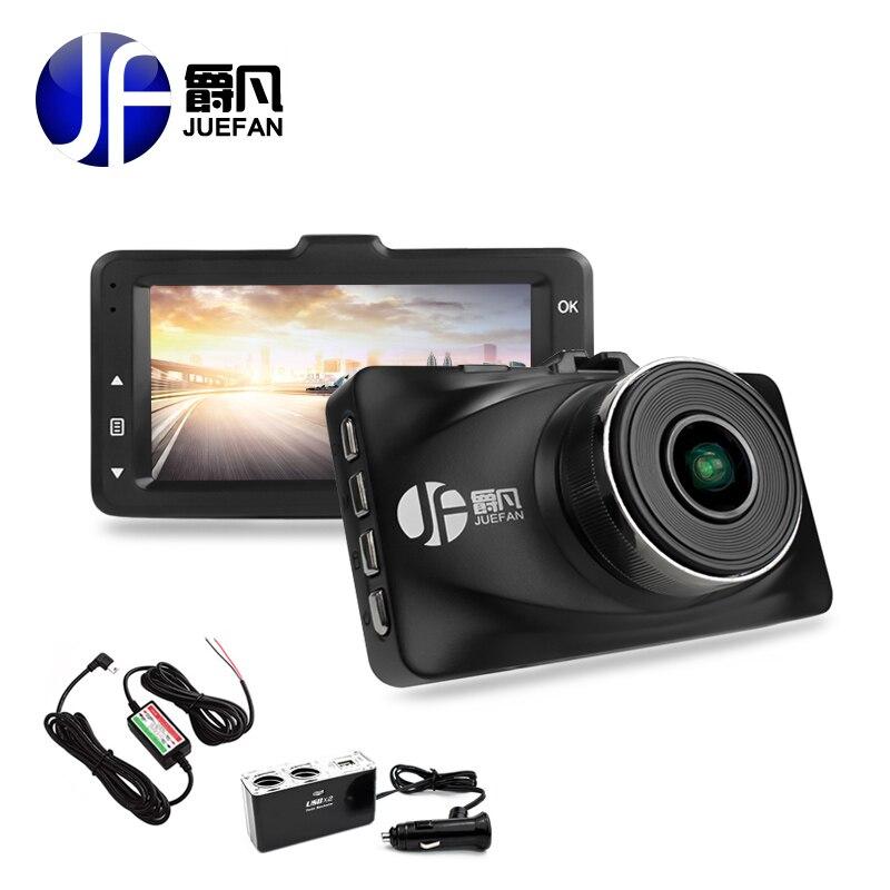 Juefan высокого качества Автомобильный видеорегистратор Камера Новатэк 96655 видеорегистратор Full HD 1080 P авто камера 3.0 дюймов Blackbox Парковка Мони...