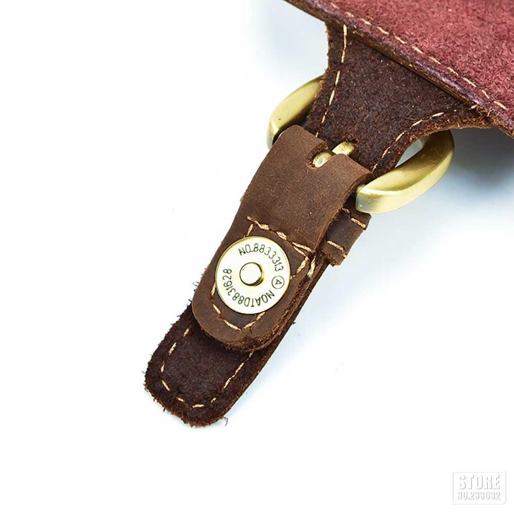 Мотоциклетная Мужская сумка из коровьей кожи с натуральным лицевым покрытием, мини поясная сумка в стиле ретро, винтажные сумки для телефона, сумка для багажа, поясная сумка