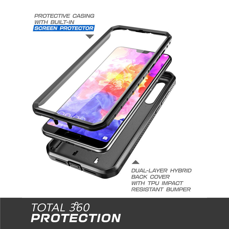 Protective Case with Screen For Huawei P20 Pro