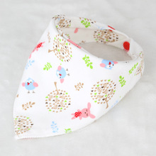 Cartoon and multi colorered triangular bibs – many colors available