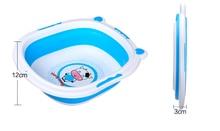 large baby bathtub infant shower Foldable portable Plastic newborn Baby Bath Tub toddler tub Bloom For Bathing pool